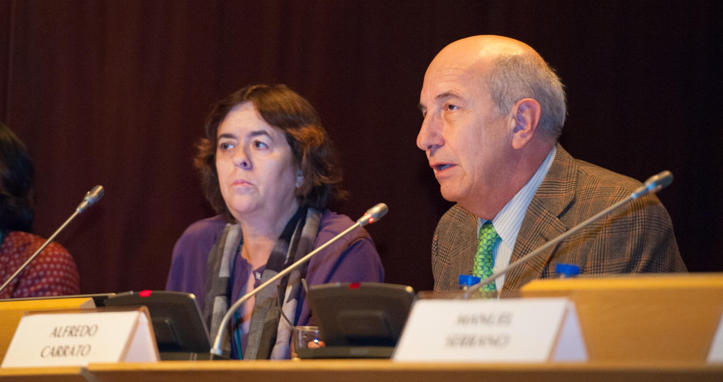 ASPIC-ASEICA Symposium Alfredo Carrato, leonor David and Goreti Sales