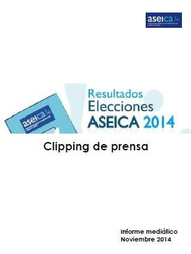 Portada clipping elecciones ASEICA